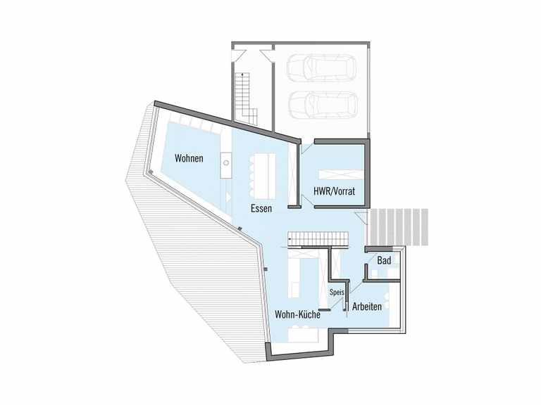 Baufritz Designhaus Bullinger EG