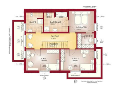 Fantastic 162 V4 – Einfamilienhaus Grundriss DG