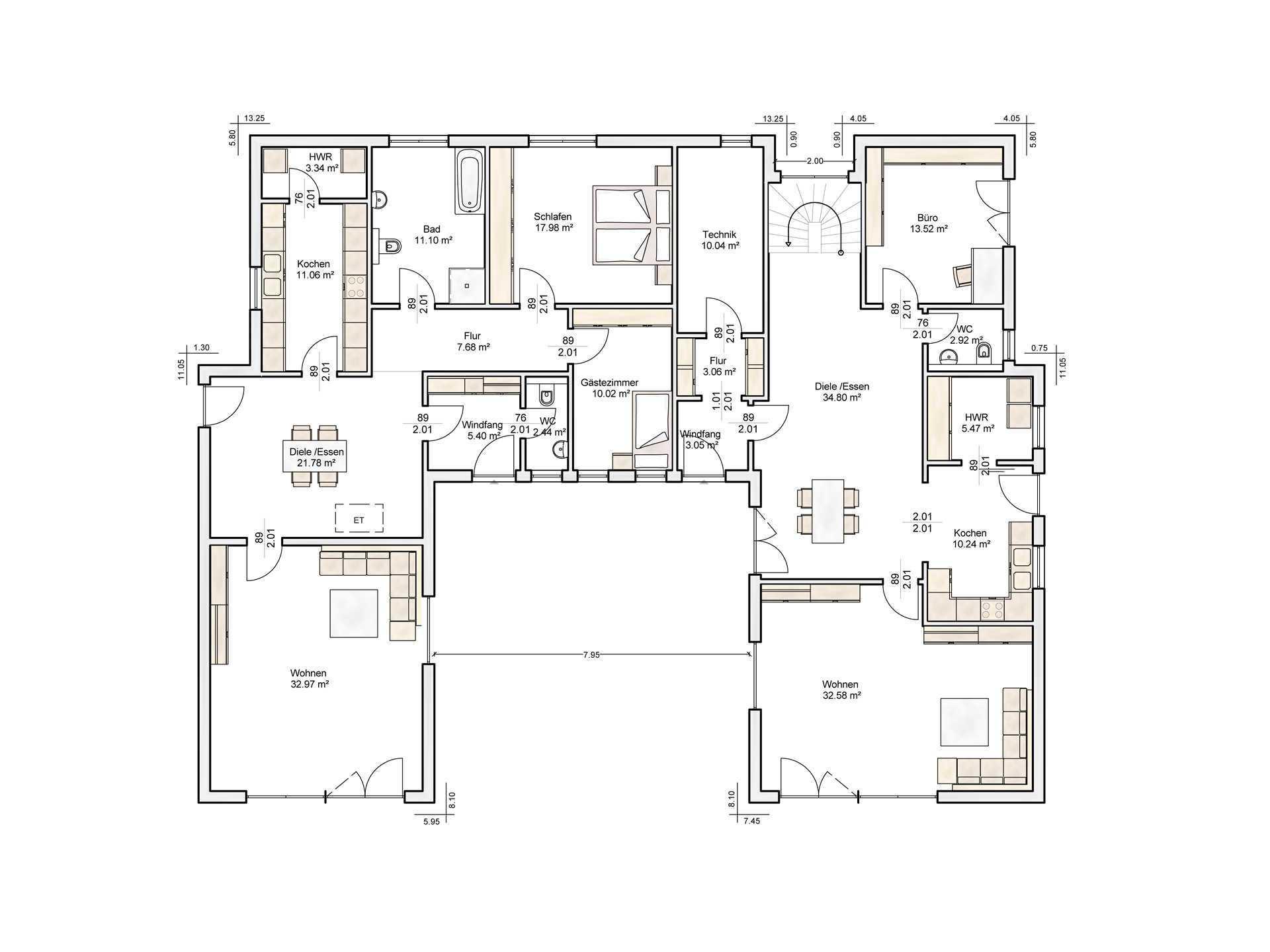 mehrgenerationenhaus auen albert haus. Black Bedroom Furniture Sets. Home Design Ideas
