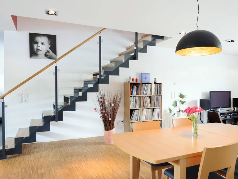 Wohnbereich 2 - Einfamilienhaus im Bauhausstil - ALBERT Haus