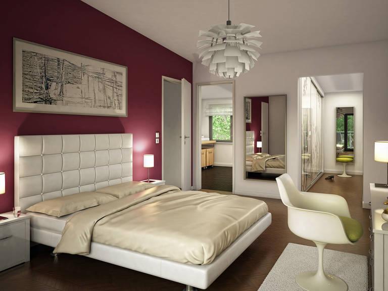 Innenansicht Schlafzimmer Celebration 110 V5 L von Bien Zenker