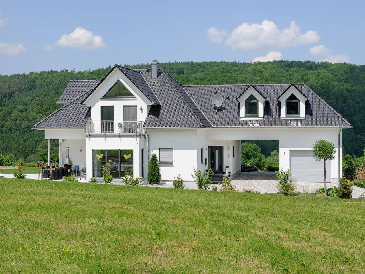exklusive villa albert haus. Black Bedroom Furniture Sets. Home Design Ideas