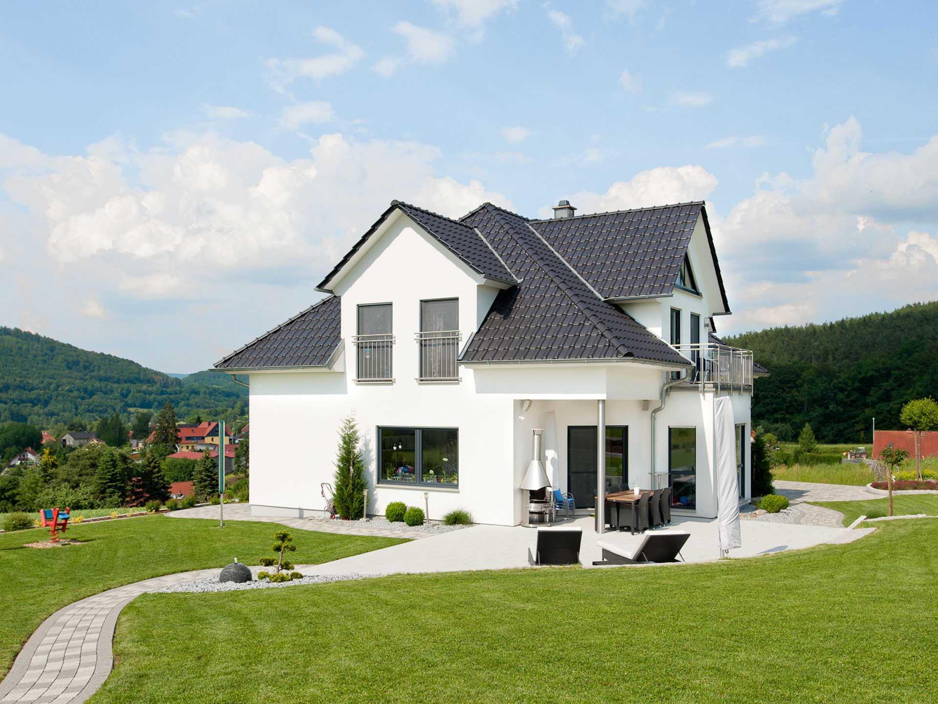 Musterhaus stadtvilla mit garage  Exklusive Villa - ALBERT Haus