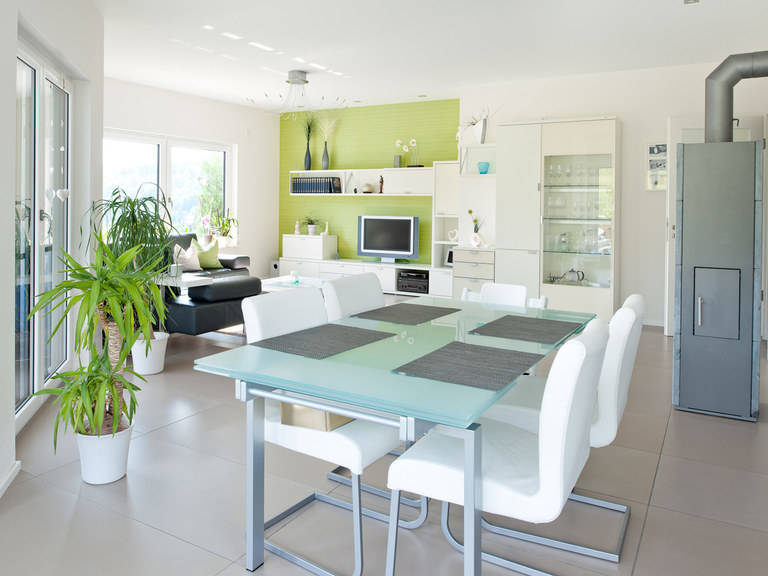 Exklusive Villa von ALBERT Haus Wohnzimmer