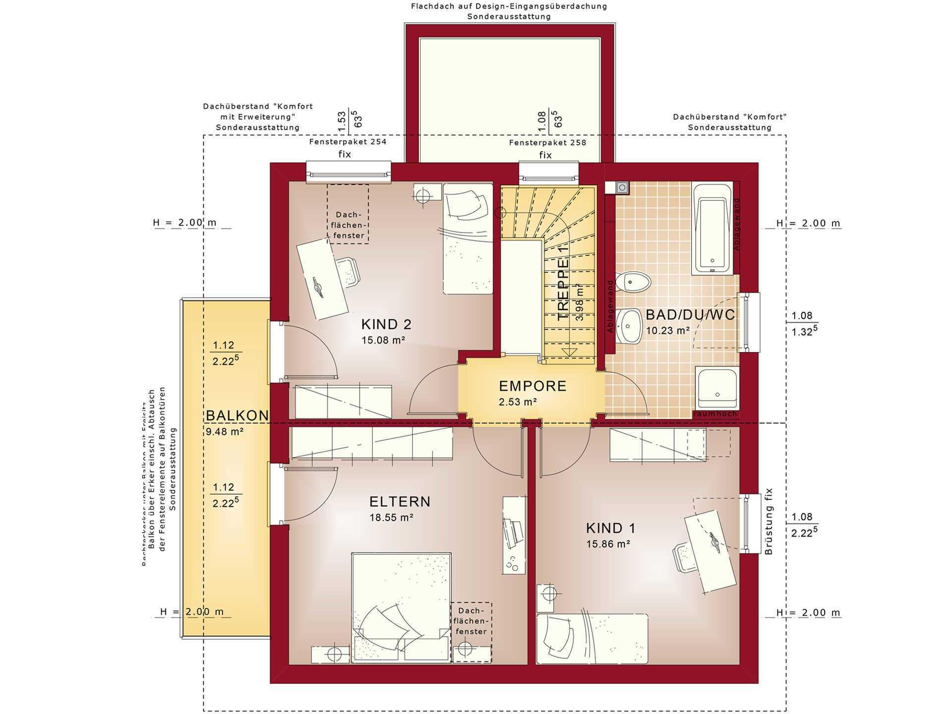 elebration 134 V8 - infamilienhaus - Bien-Zenker