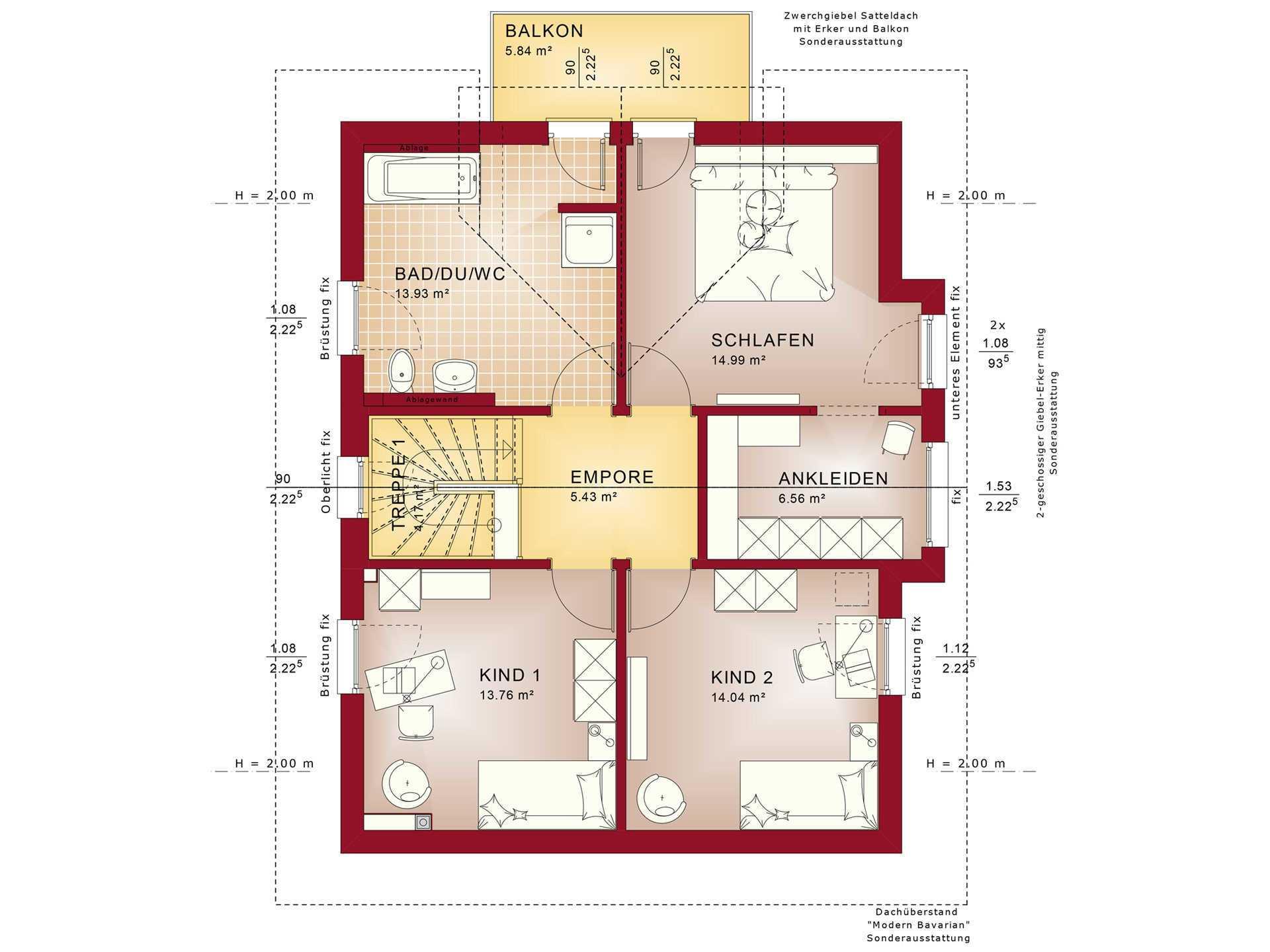 ^ elebration 137 V11 - infamilienhaus - Bien-Zenker