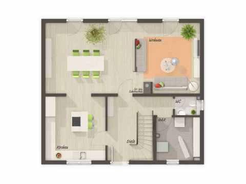 Flair 125 Grundriss Erdgeschoss