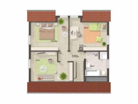 Flair 125 Grundriss Obergeschoss