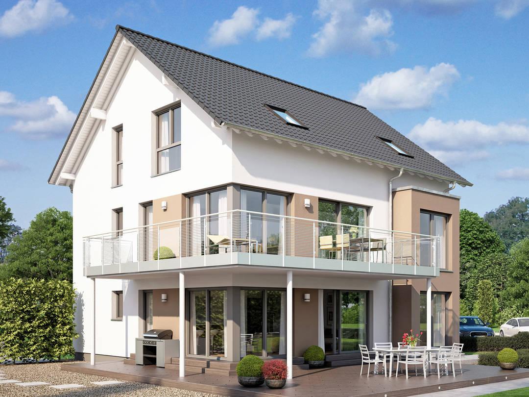 mehrgenerationenhaus celebration 275 v3 bien zenker. Black Bedroom Furniture Sets. Home Design Ideas