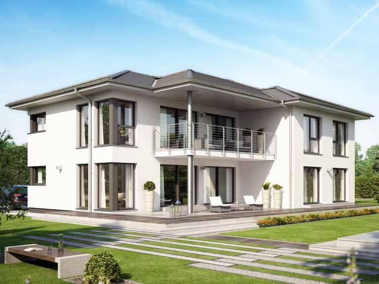 Zweifamilienhaus CELEBRATION 282 V2 - Bien Zenker