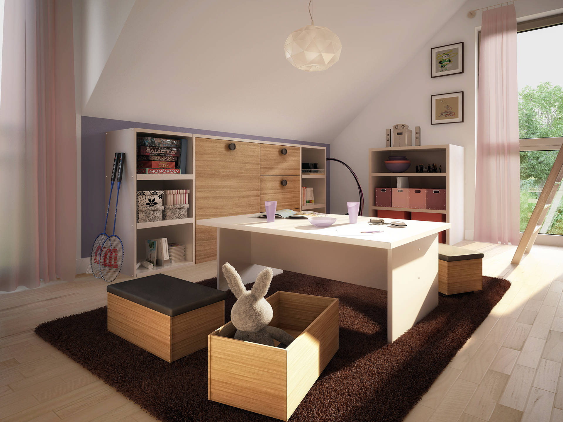 Innenansicht Kinderzimmer Concept-M Aktionshaus 134 TR V4 von Bien Zenker