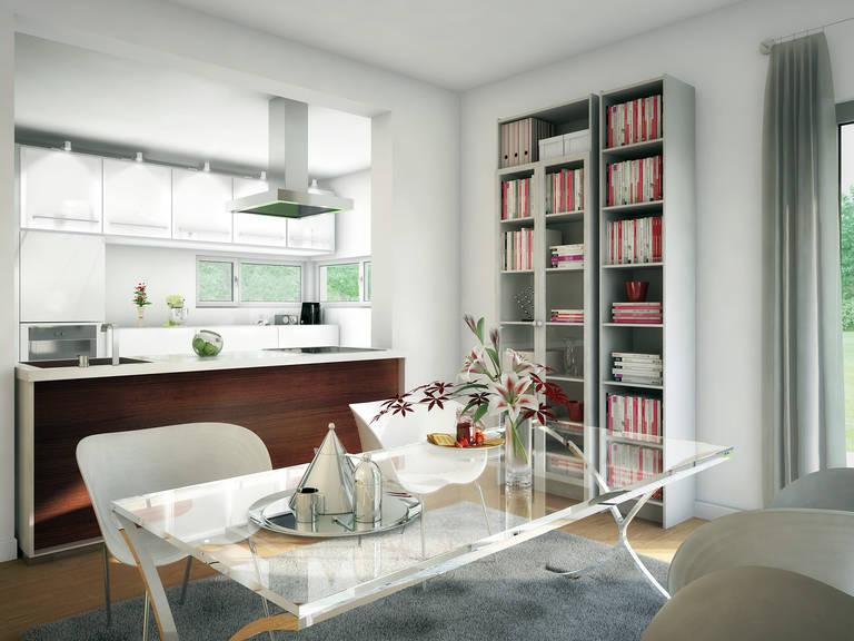 Innenansicht Küche Concept-M Aktionshaus 134 TR V4 von Bien Zenker