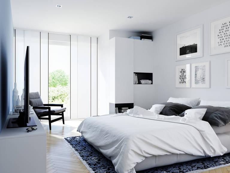Innenansicht Schlafzimmer Edition 2 V2 - Einfamilienhaus von Bien Zenker