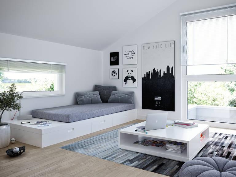 Einfamilienhaus edition 2 v3 bien zenker for Einfamilienhaus innenansicht