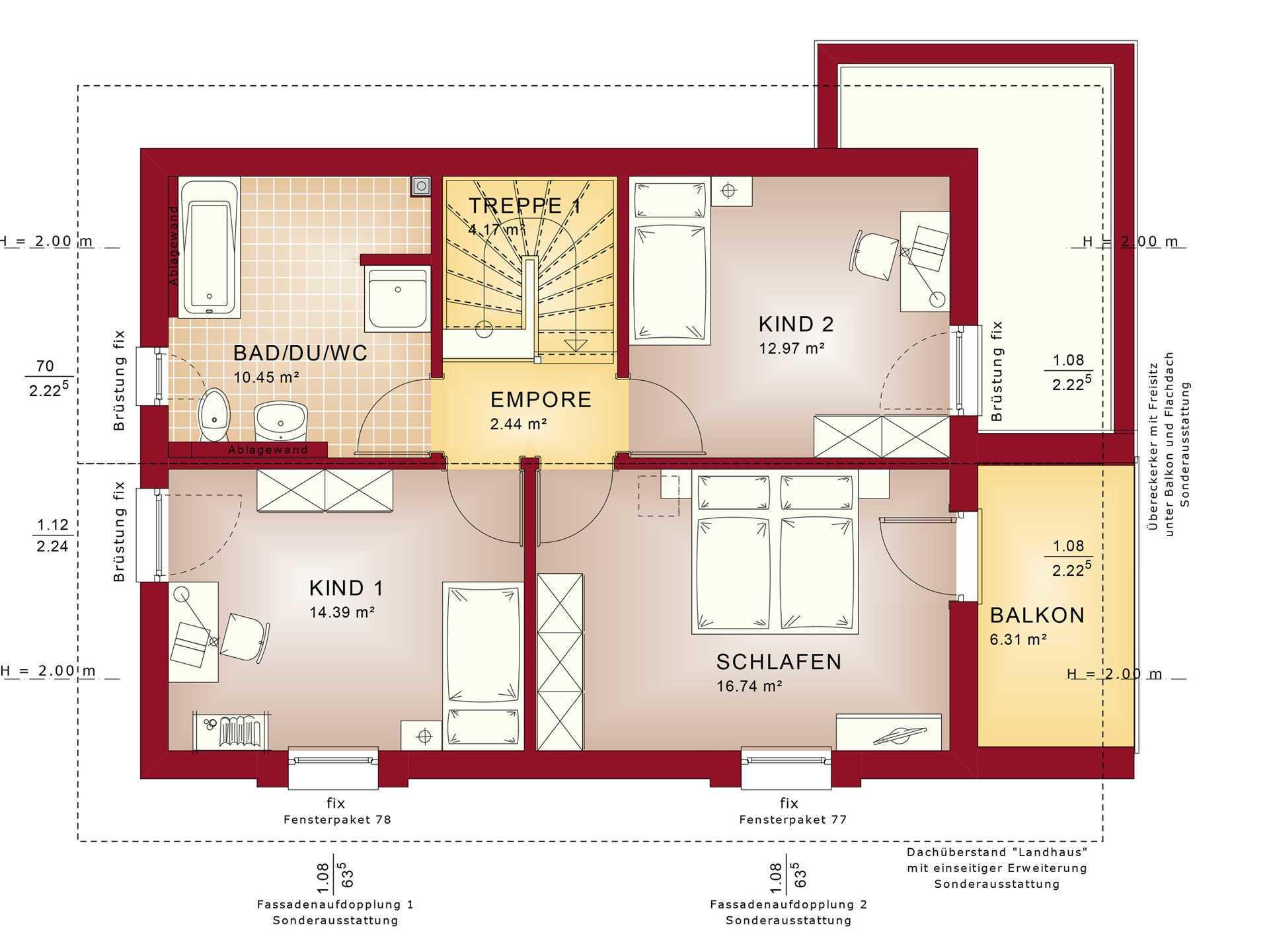Grundriss DG Edition 2 V3 - Einfamilienhaus