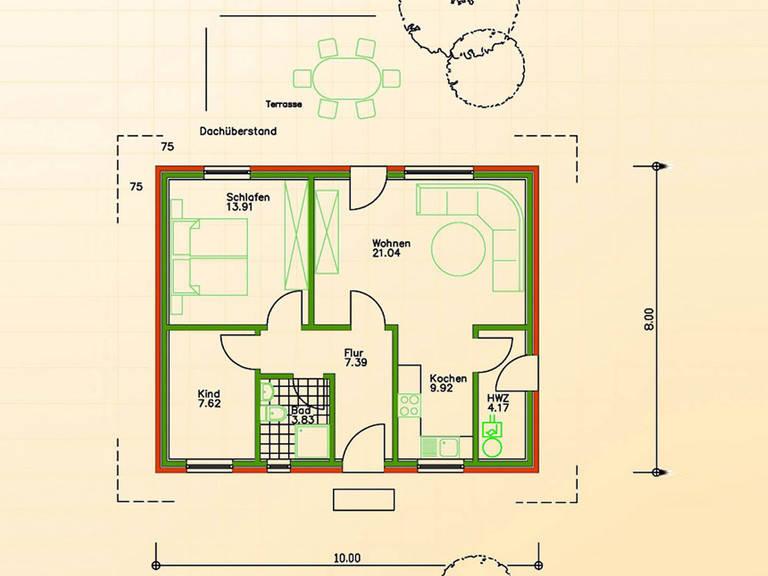 fertighaus sf 80 schwesig s hne gmbh. Black Bedroom Furniture Sets. Home Design Ideas