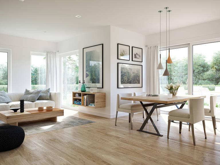 Innenansicht Wohnbereich Edition 3 V5 - Einfamilienhaus von Bien Zenker