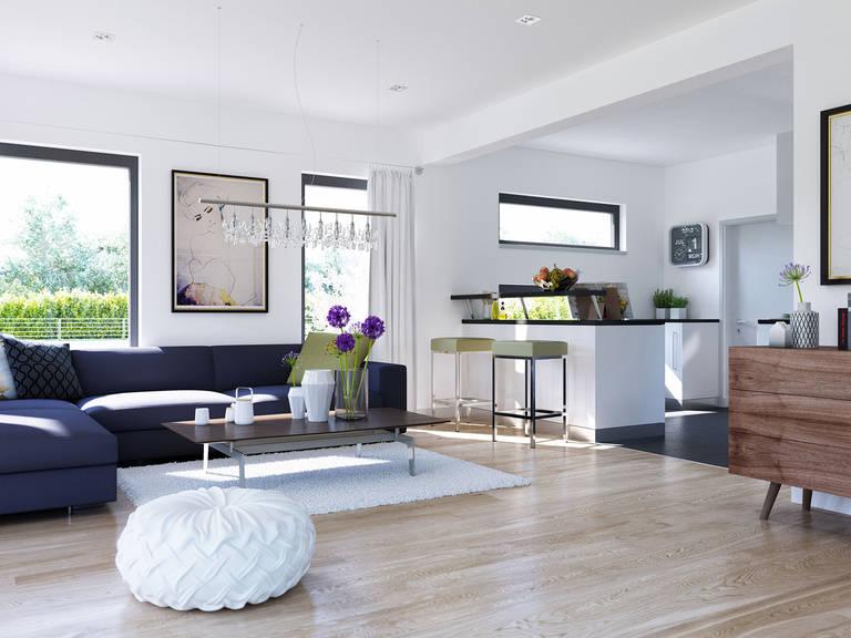 Innenansicht Küche Edition 3 V6 - Einfamilienhaus von Bien Zenker