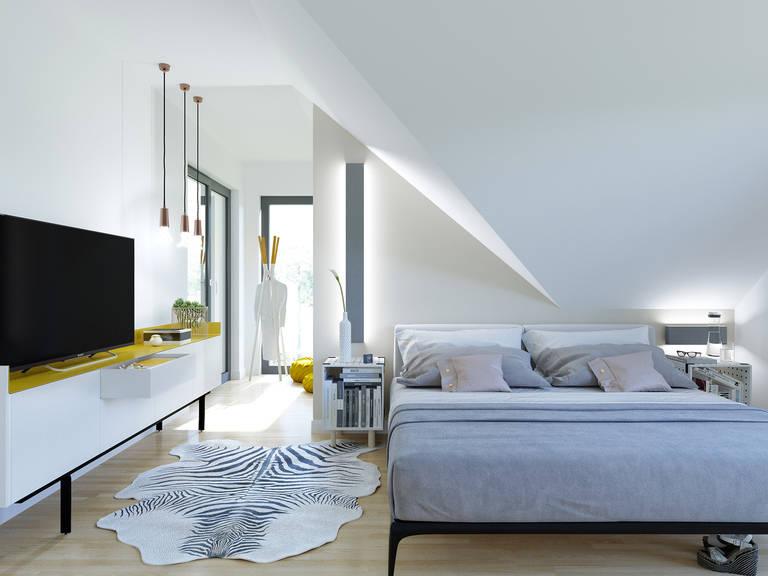 Innenansicht Schlafzimmer Edition 3 V6 - Einfamilienhaus von Bien Zenker