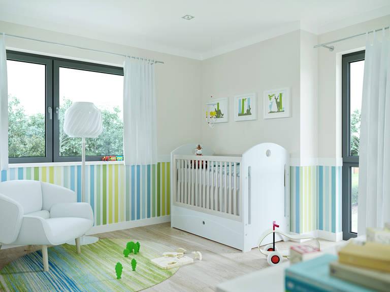 Innenansicht Kinderzimmer Edition 4 V4 - Einfamilienhaus von Bien Zenker