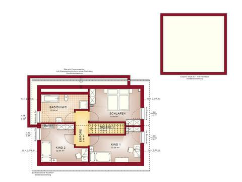 Grundriss DG Edition 4 V4 - Einfamilienhaus