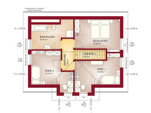 Grundriss DG Edition 4 V5 - Einfamilienhaus