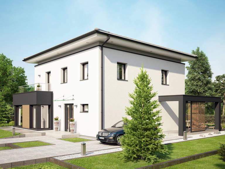 Evolution Potsdam Außenansicht 3 - Einfamilienhaus