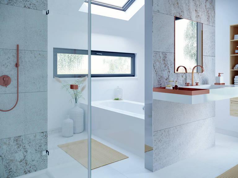 Innenansicht Badezimmer CONCEPT-M 153 Stuttgart - Einfamilienhaus von Bien Zenker