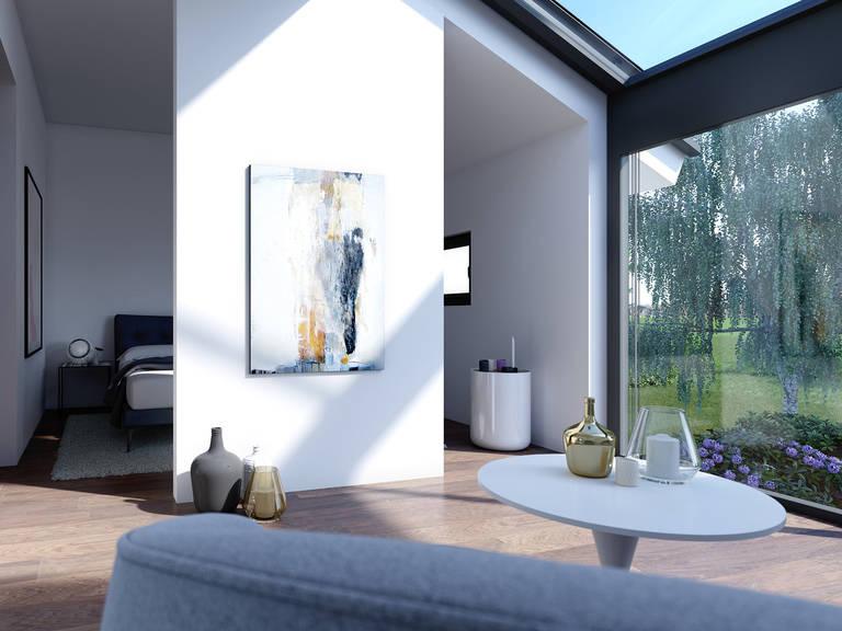 Innenansicht Schlafzimmer CONCEPT-M 153 Stuttgart - Einfamilienhaus von Bien Zenker