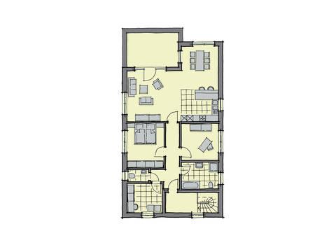 GUSSEK-HAUS - Zweifamilienhaus Ancona Grundriss DG