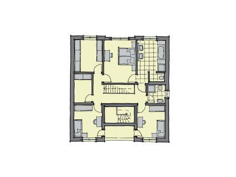GUSSEK-HAUS - Haus Barcelona Grundriss DG