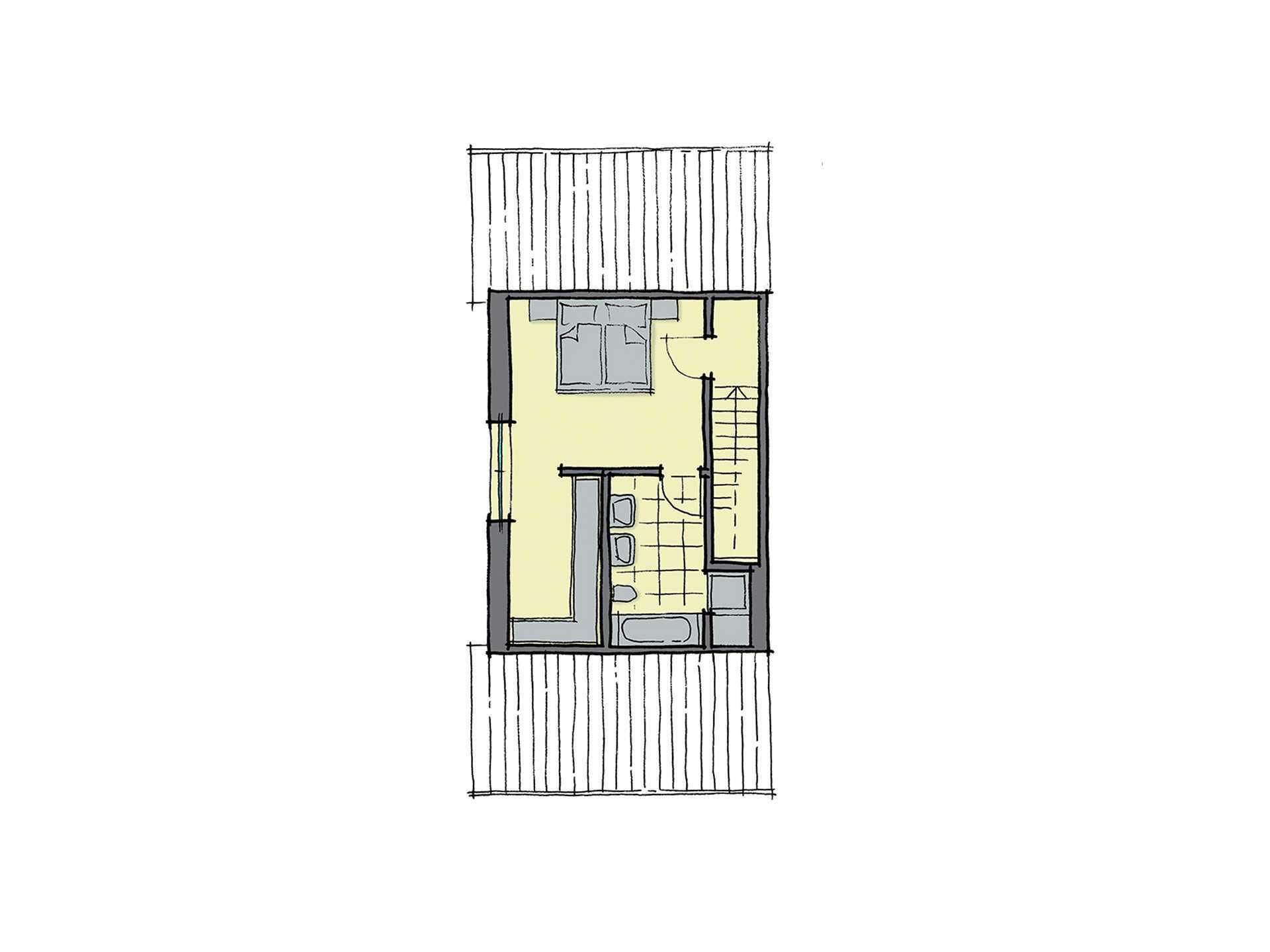 GUSSEK-HAUS - Doppelhaus Marseille Grundriss DG2