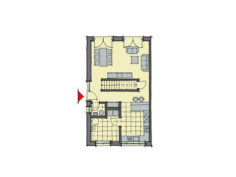 GUSSEK-HAUS - Doppelhaus Modena Grundriss EG