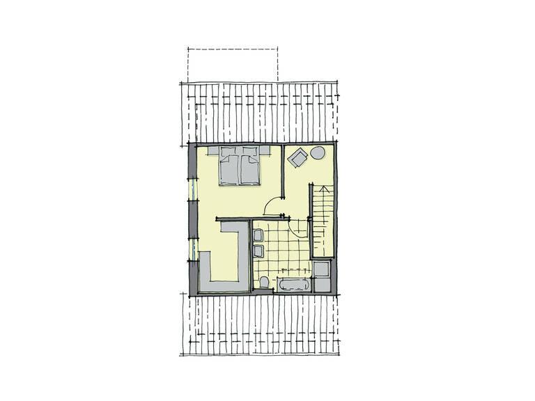 GUSSEK-HAUS - Doppelhaus Monza Grundriss SG