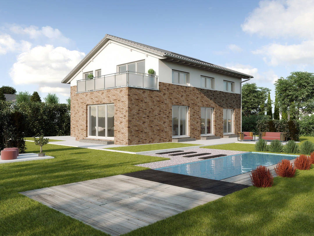 Zweifamilienhaus verona gussek haus for Hausplanung berlin