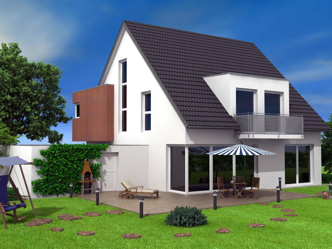 Dörr Haus - Einfamilienhaus Ambiente 170 Hauptansicht