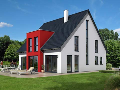 Dörr Haus - Einfamilienhaus Ambiente 186 Gartenansicht