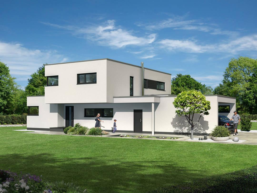 Dörr Haus - Einfamilienhaus Kubus 170 Außenansicht