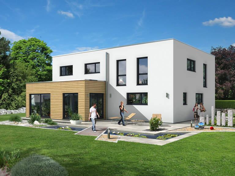 Dörr Haus - Einfamilienhaus Kubus 223 Außenansicht