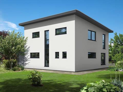 Dörr Haus - Pultdachhaus 150 Außenansicht