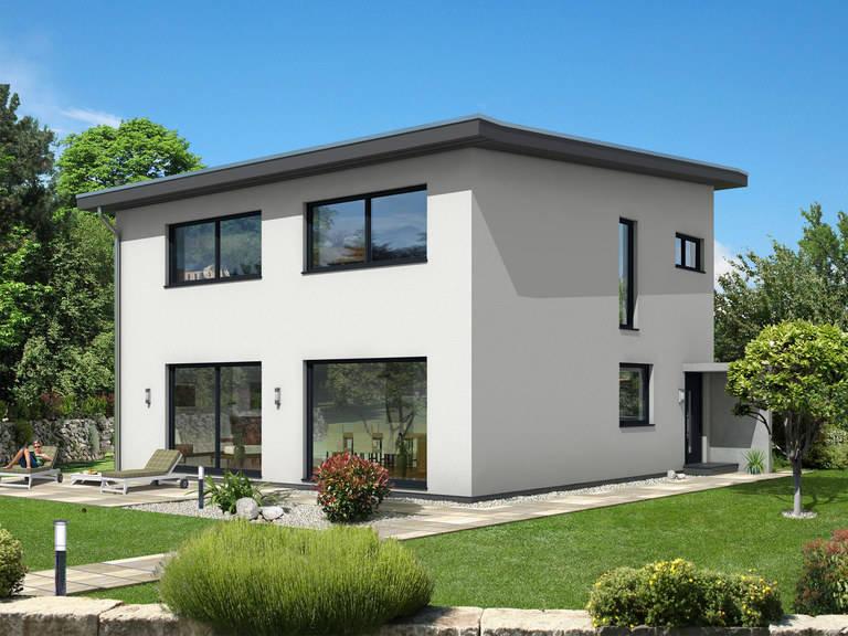 Dörr Haus - Pultdachhaus 150 Hauptansicht