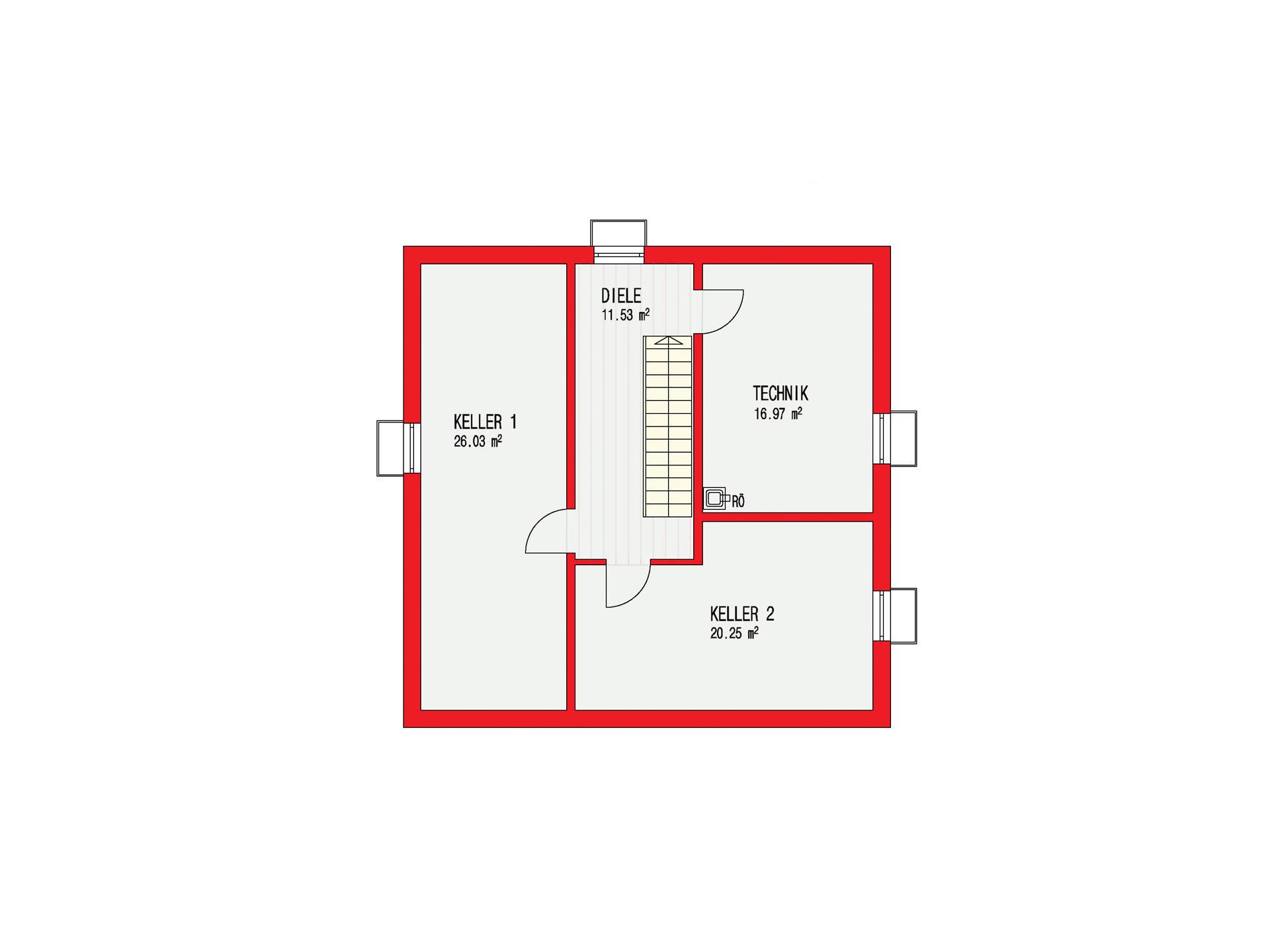 Pultdachhaus 150 d rr haus for Pultdachhaus grundriss