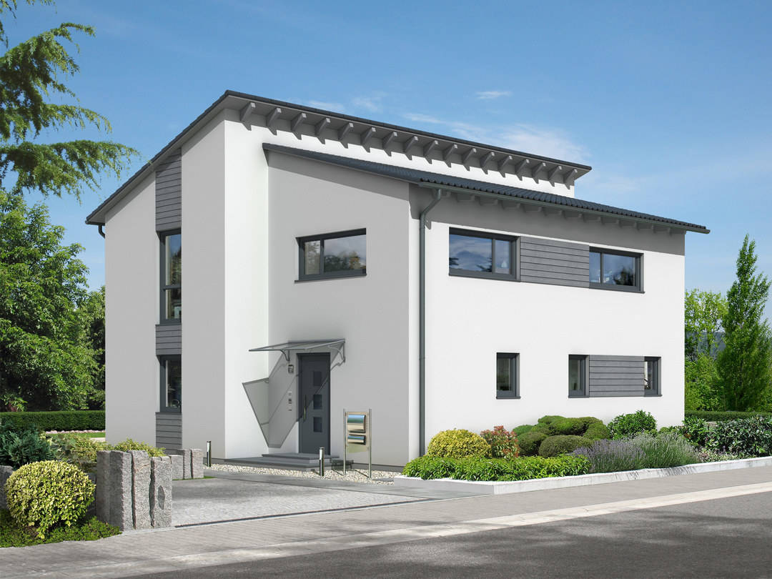 Dörr Haus - Pultdachhaus 164 Hauptansicht