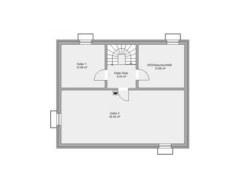 Dörr Haus - Stadthaus 157 M Grundriss KG