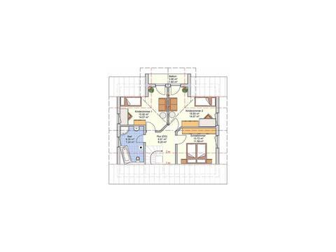 Fingerhut Haus Einfamilienhaus R99.20 Grundriss DG