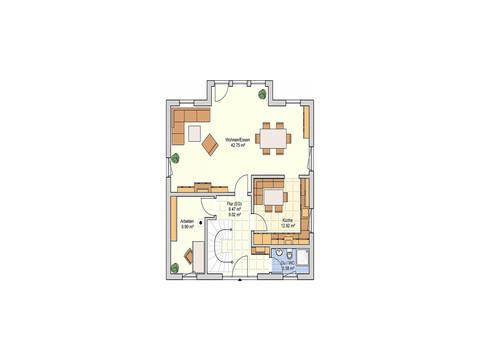 Fingerhut Haus Einfamilienhaus R99.20 Grundriss EG