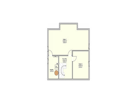 Fingerhut Haus Einfamilienhaus R99.20 Grundriss KG