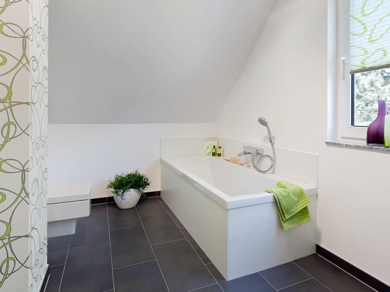 Innenansicht Badezimmer - Einfamilienhaus R99.20 - Fingerhut Haus