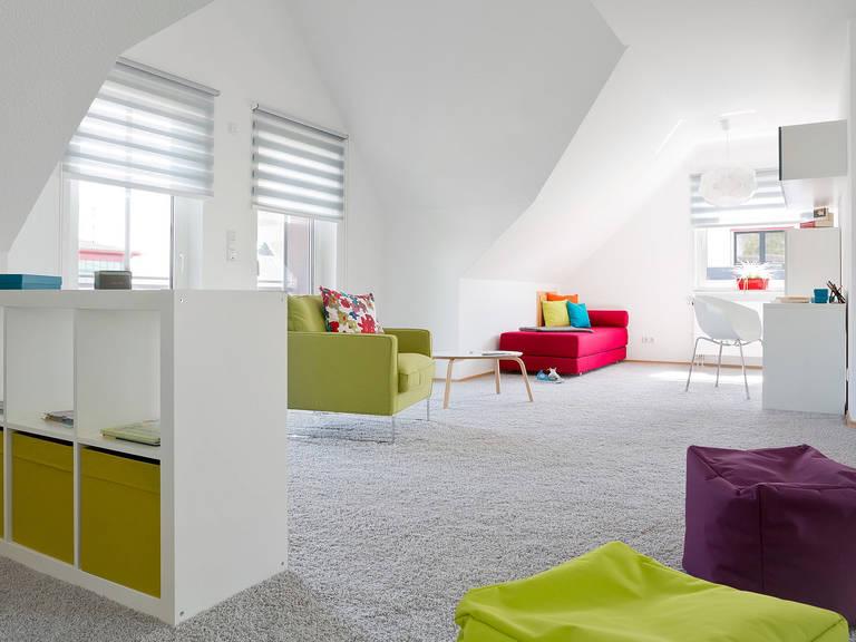 Innenansicht Kinderzimmer - Einfamilienhaus R99.20 - Fingerhut Haus