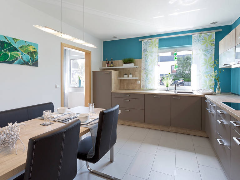 Innenansicht Küche - Einfamilienhaus R99.20 - Fingerhut Haus